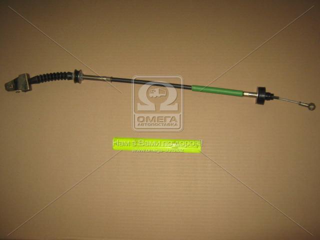 Трос сцепления ВАЗ 2109 (нового образца) (производство КЕДР-ПЛЮС) (арт. 2109-1602210-01), AAHZX