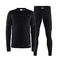 Термокостюм Craft Baselayer Set Man S Black/Granite
