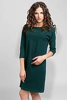 Женское теплое трикотажное  платье