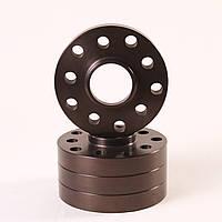 Алюминиевые колесные проставки  5х108,  Dia = 65.1, 25мм (Citroen, Peugeot, Volvo)