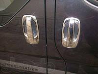 Накладки на ручки+под ручки Renault Trafic