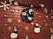 """Новорічні наклейки на стіну """"Новорічні баранці"""", фото 3"""