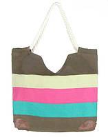 Женская летняя сумка в полоску - 006.32 Код:9390