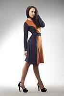Очаровательное платье из искусственной замши
