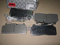 Колодка тормозная дисковая (комплект на ось) SBS2220 (RIDER), AGHZX