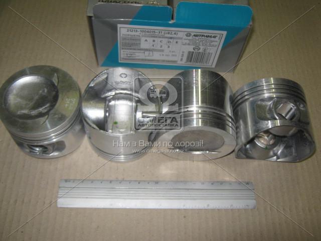 Поршень цилиндра ВАЗ 21213,2123 d=82,4 гр.D М/К (производство Автрамат) (арт. 21213-1004015-АР), ACHZX