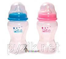 Бутылочка для кормления с антиколиковой соской Premium 300 мл Lindo