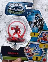 Игра запускалкаBeyblade/ Бейблейд НОВИНКА ХИТ волчок с героем синий, красный, зеленый, оранжевый- распадается на 3 части при столкновении ,удобный запускной механизм