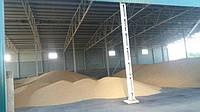 Зернохранилище. Хранилище для зерна. Накрытие для зерна. Профнастил. Под ключ.