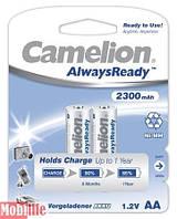 Аккумулятор Camelion AA R06 2шт 2300 mAh Ni-MH Always Ready Цена 1шт.