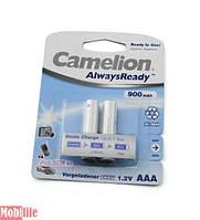 Аккумулятор Camelion AAA R03 2шт 900 mAh Ni-MH Always Ready Цена 1шт.