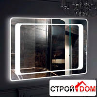 Прямоугольное зеркало с LED подсветкой Liberta Izeo 1200x700