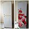 """Вінілова наклейка на холодильник """"Червоні маки"""", фото 2"""