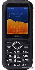 Мобильный телефон Sigma Х-treme IO67 Black