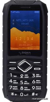 Мобильный телефон Sigma Х-treme IO67 Black , фото 2