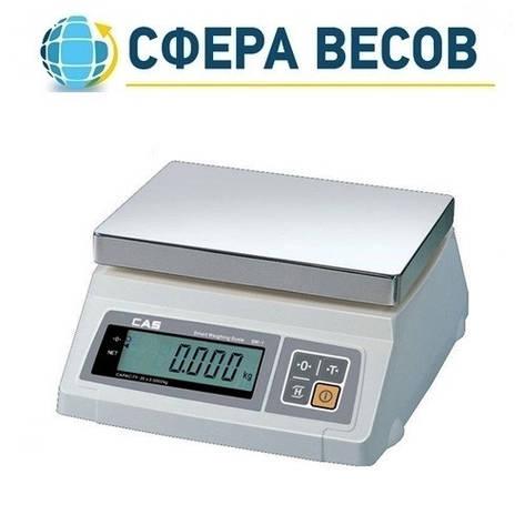 Весы фасовочные CAS SW-5 (5 кг), фото 2