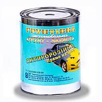 Грунтовка автомобильная антикоррозийная «Грунт-защита» (по ржавчине) 0.9кг Черновицкий химзавод