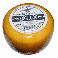 Сыр голландский авторский Berkhout Knoflook Чеснок, 1шт