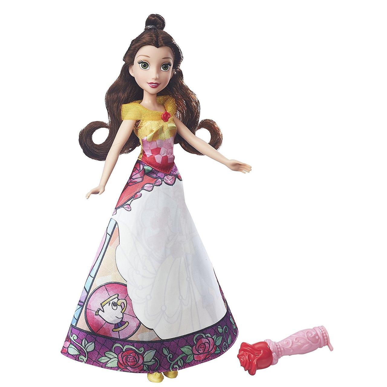 Кукла  Белль Принцессы Диснея серия Волшебная Юбка