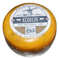 Сыр голландский авторский Berkhout Komijn Тмин, 1шт