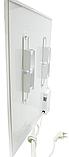 Панельний обігрівач інфрачервоний HSteel ISH 250W Premium / білий / програматор / ролики, фото 4
