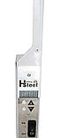 Панельний обігрівач інфрачервоний HSteel ISH 250W Premium / білий / програматор / ролики, фото 2