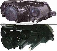 Фара правая h7+h7 электро регулировка черн. (тип hella) VW PASSAT B6 05-10