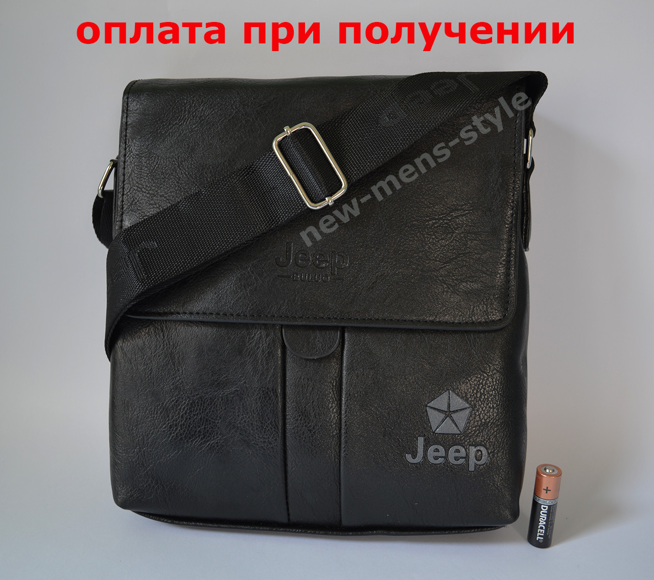 b1809522072c Купить сейчас - Мужская кожаная фирменная сумка барсетка Jeep Polo ...