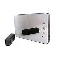 Комплект домофона PoliceCam PC-938R2 MIR (DVC-4Q) Зеркальная поверхность