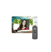 Комплект домофона PoliceCam PC-938R2 MIR HD (PC-668H) Зеркальная поверхность
