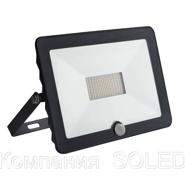 Прожектор LED 30w 6500K IP65 2400lm датчик движения