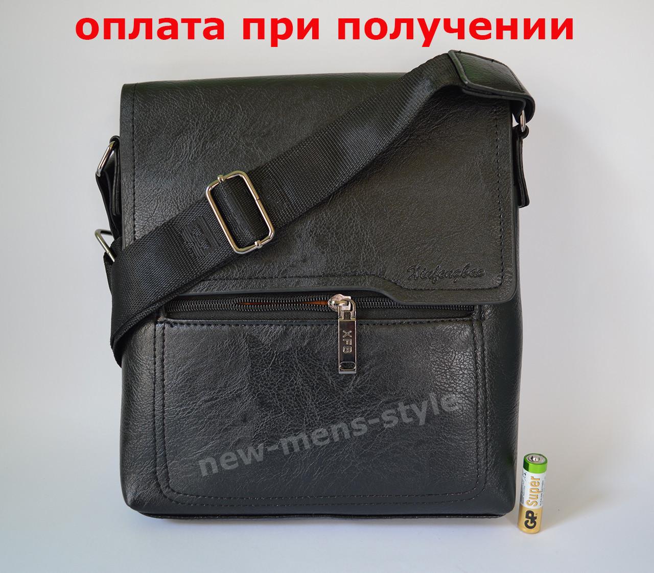 Чоловіча шкіряна сумка, барсетка під бренд Polo Jeep Xifengbao купити