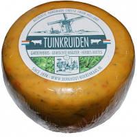 Сыр голландский авторский Berkhout Tuinkruiden Травы, 1шт