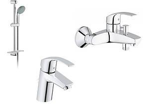 Grohe Eurosmart набор смесителей для ванны