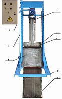 Решетка механическая грабельная рейкового типа РГР