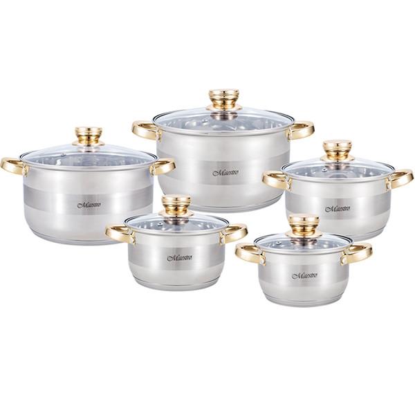 Набір посуду 10 пр. Maestro MR 2206-10