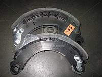 Колодка тормозная в сборе СУПЕРМАЗ левая+правая (2 шт.) (производство Трибо), AGHZX