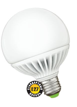 Лампа светодиодная NLL G95 12W 2700K 230В Е27 NAVIGATOR