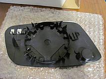 Вкладиш зеркала Audi A6 C5 (97-05) лівий підігрів