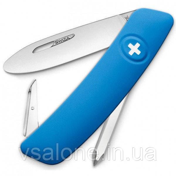 Швейцарский нож Swiza J02 Junior Свиза Джуниор Синий Швейцария