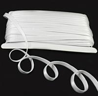 Резинка для бретель 1 см. (боб 45 м.)-белая
