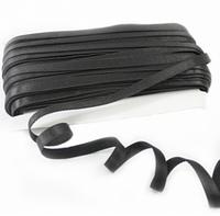 Резинка для бретель 1,5 см. 45 м., черная