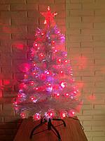 """Светящаяся, светодиодная белая елка """"Снежная королева"""" 90 см, sk90"""