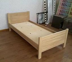 """Дубовая односпальная кровать """"Эконом"""". 7"""