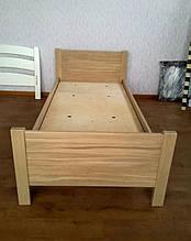 """Дубовая односпальная кровать """"Эконом"""". 8"""