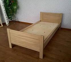 """Дубовая односпальная кровать """"Эконом"""". 10"""