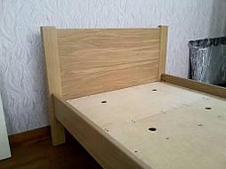 """Дубовая односпальная кровать """"Эконом"""". 11"""