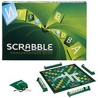 Настольная игра Скрабл Scrabble Оригинал Mattel украинский язык