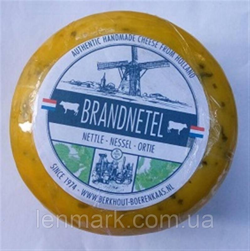 Сыр голландский авторский Berkhout Brandnetel  Крапива, 1шт