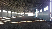 Профнастил быстровозводимые склады, ангары, зернохранилища.